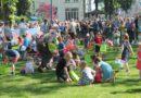 Zonovergoten en schitterende Paasworp van de Handelsvereniging VANK in Kontich