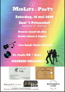 Midlife Party - Hove @ Zaal Prinsenhof