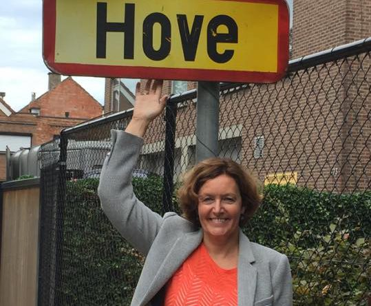 Goedele Breyne (pH7 – Positief Hove): 'Blij dat zoveel inwoners ons steunen'