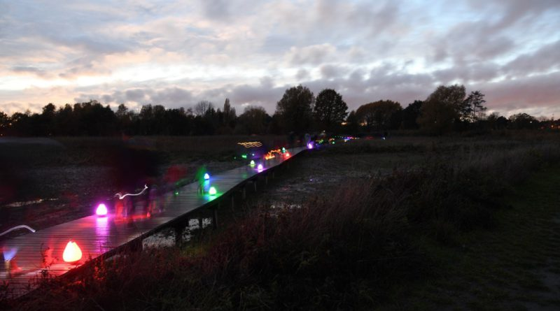 3e Lichtjesstoet in het feeerieke Landschapspark Frijthout is opnieuw een succes