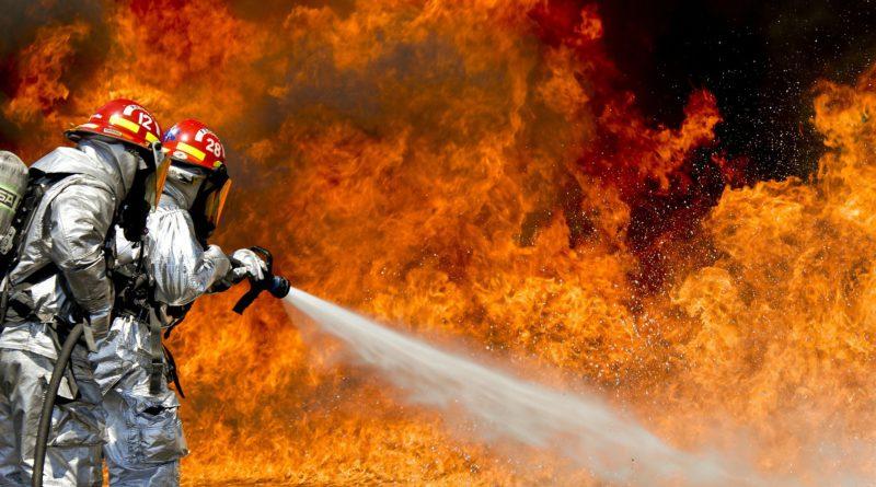 Brand in de gemeente Boom is wellicht aangestoken