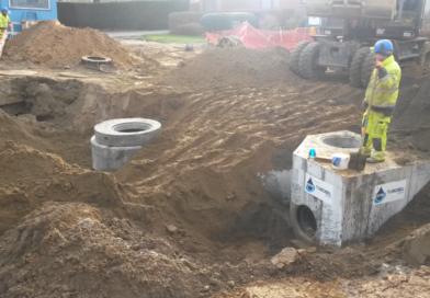 Update werken Schanslaan in Borsbeek