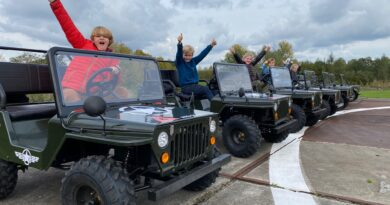 Junior Jeep Experience bij AED Studios